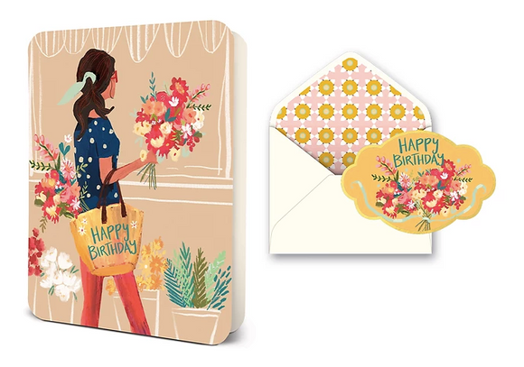 Birthday Flower Shop Deluxe Card Set