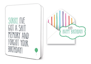 Belated Birthday Deluxe Card Set