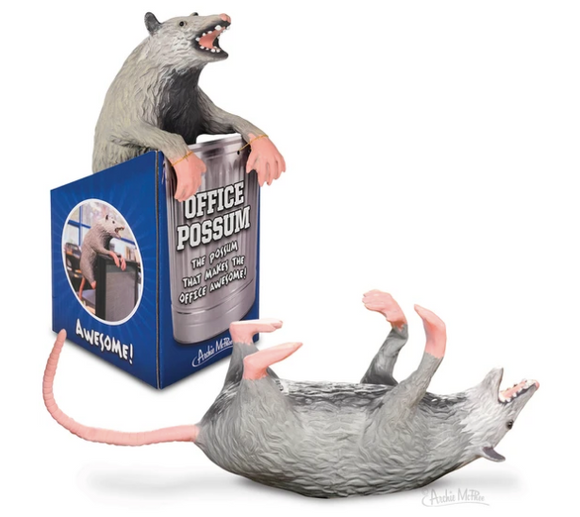 Archie McPhee Office Possum