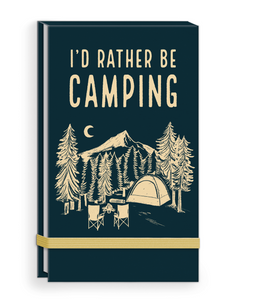 I'd Rather Be Camping Listpad