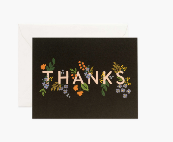 Rifle Paper Co. Posey Thank You Card