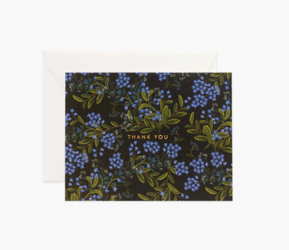 Rifle Paper Co. Cornflower Thank You Card