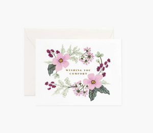 Rifle Paper Co. Wishing You Comfort Card