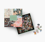 Rifle Paper Co Maps Puzzle