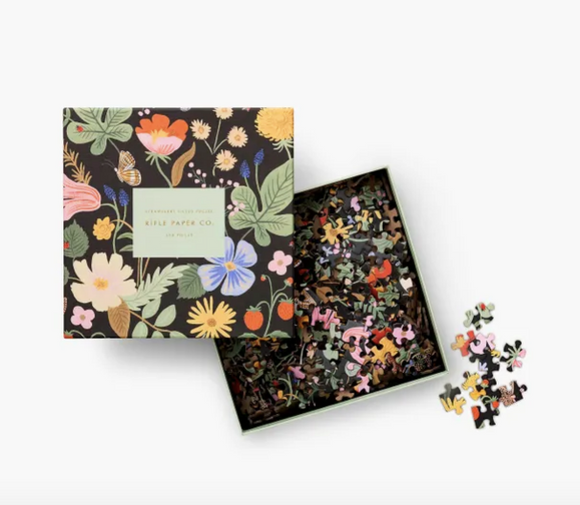 Rifle Paper Co. Strawberry Fields Puzzle