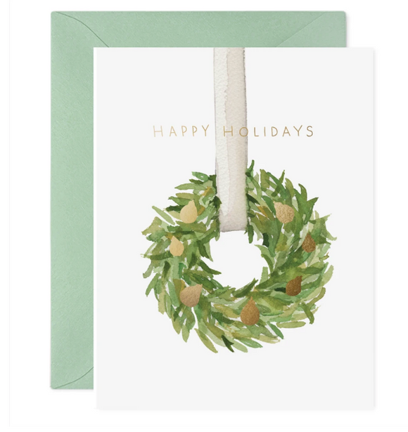 Holiday Wreath Notecards