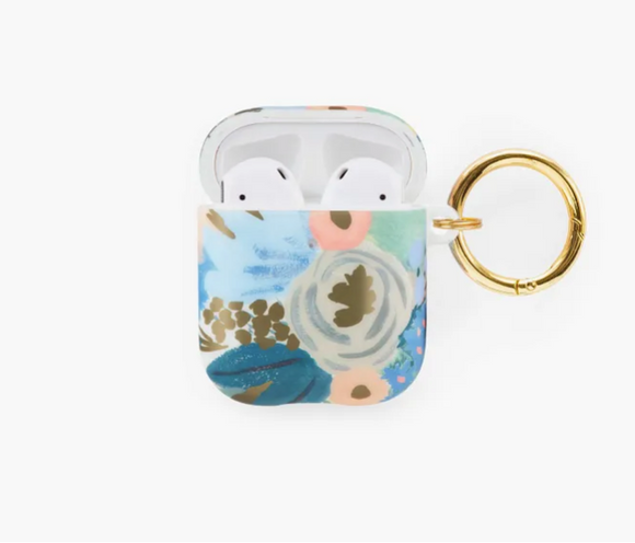 Rifle Paper Co. Blue Floral Airpod Case