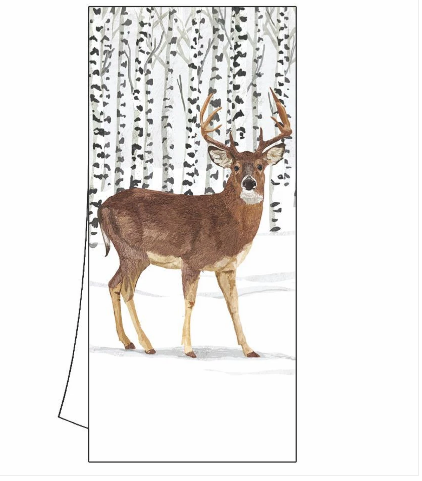Wilderness Stag Kitchen Towel