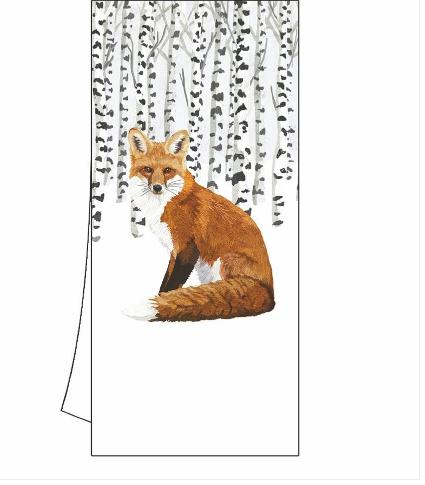 Wilderness Fox Kitchen Towel
