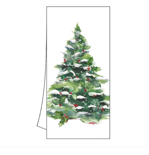 Winter Tree Kitchen towel
