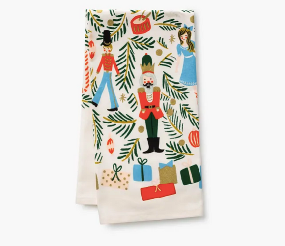 Rifle Paper Co Holiday Tea Towel