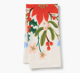 Rifle Paper Co. Holiday Bouquet Tea Towel