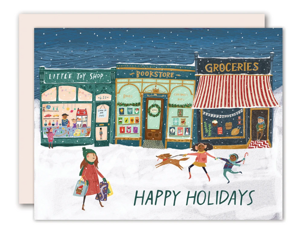 Shop Small Holiday Card