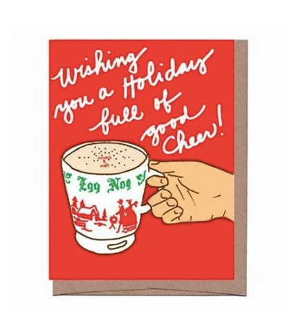 Egg Nog Card