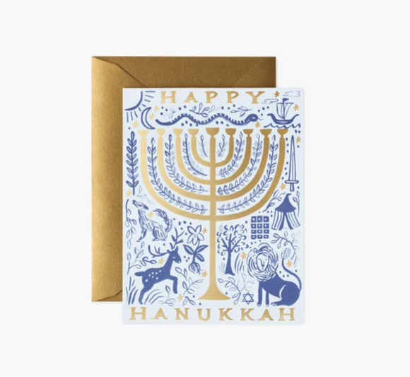 Rifle Paper Co Hanukkah Card