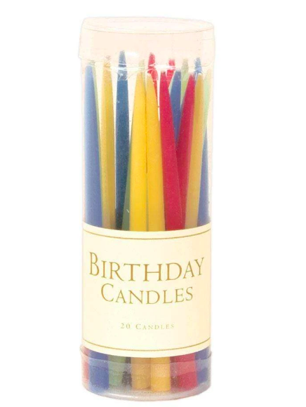 Caspari Birthday Candles