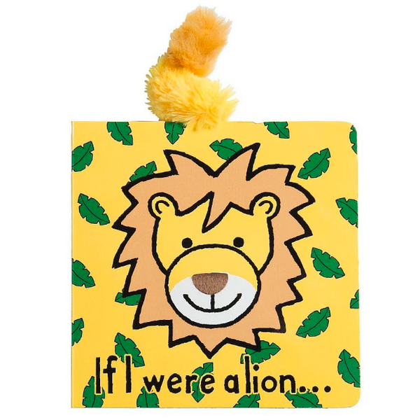 Jellycat Lion Book