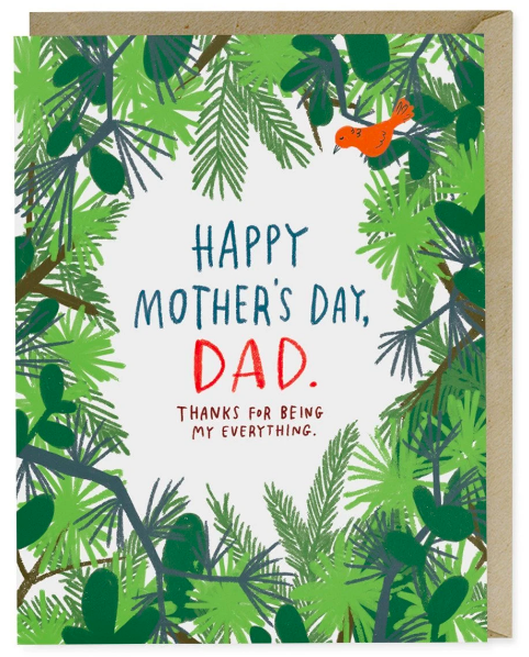 Happy Mother's Day, Dad Card