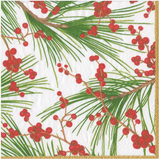 Berries and Pine Napkins