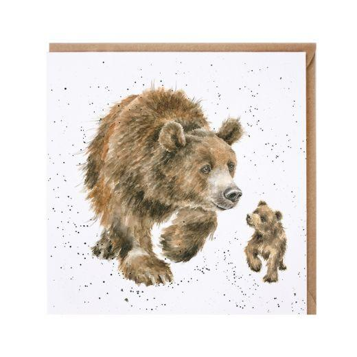 Momma Bear and Baby Bear Card
