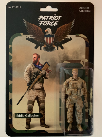Patriot Force Eddie Gallagher Navy SEAL Action Figure - Regular Edition (Wave 1)
