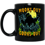Moon's out, Goons Out - 11 oz. Black Mug