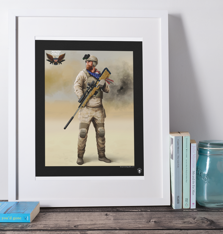 Eddie Gallagher Warfighter 16x20 Art Print