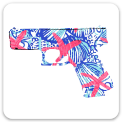 Sticker - Coastal Themed Glock