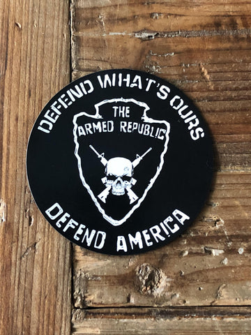 The Armed Republic - Logo Magnet
