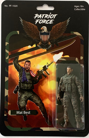 Patriot Force Mat Best Action Figure - Regular Edition (Wave 1)