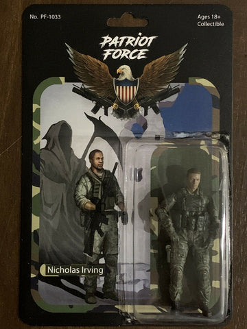 Patriot Force Nicholas Irving Action Figure - Regular Edition (Wave 1)