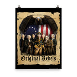 The Original Rebels - Declaration print