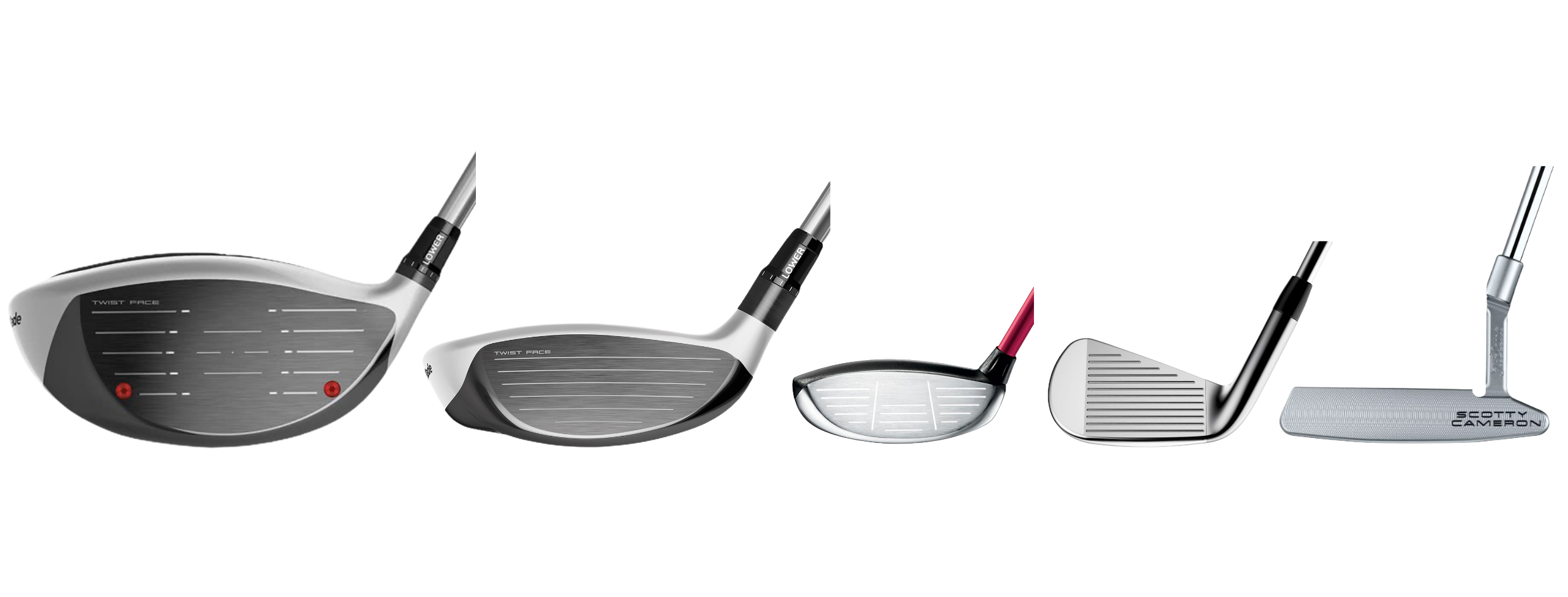 Club face condition rating on pre-owned clubs