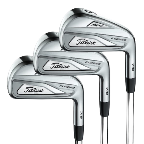 Irons sets for mid or lower handicap golfers