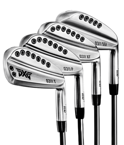 New and pre-owned PXG iron sets