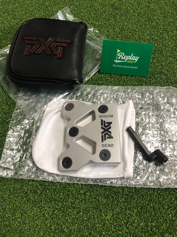 NEW PXG Operator GEN 2 Chrome Putter / HEAD ONLY and HOSEL ONLY