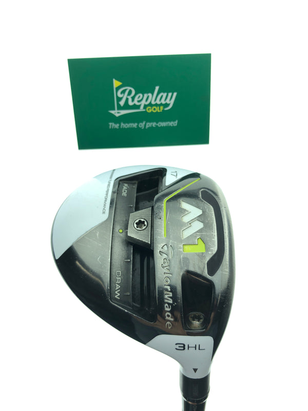 TaylorMade M1 2017 3HL Fairway Wood / 17 Degree / Project X HZRDUS 6.5 X-Flex - Replay Golf