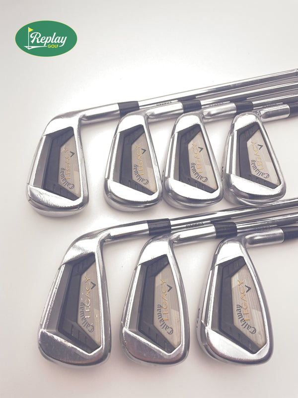 Callaway Legacy Forged Iron Set / 3-9 / KBS Tour X-Stiff Flex