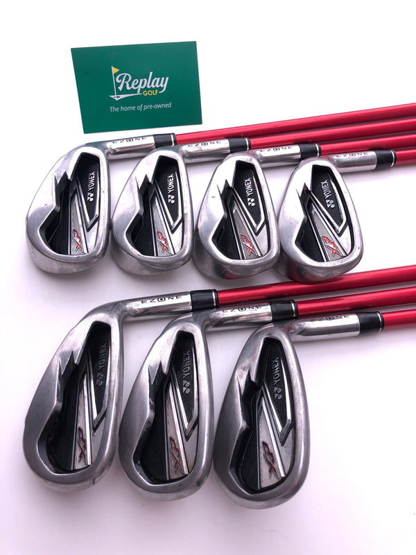 Yonex Ezone XP Iron Set / 5-SW / Graphite Yonex EX300 Regular Flex - Replay Golf