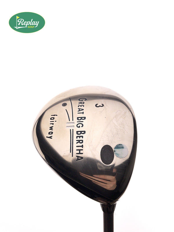 Callaway Big Bertha II 3 Fairway Wood / 15 Degrees / Gems 50 Ladies Flex - Replay Golf