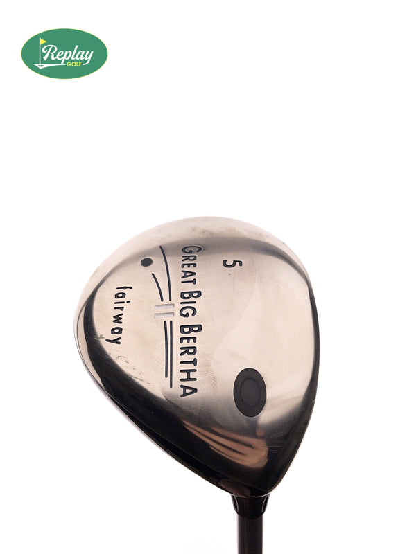 Callaway Big Bertha II 5 Fairway Wood / 18 Degrees / Gems 50 Ladies Flex - Replay Golf