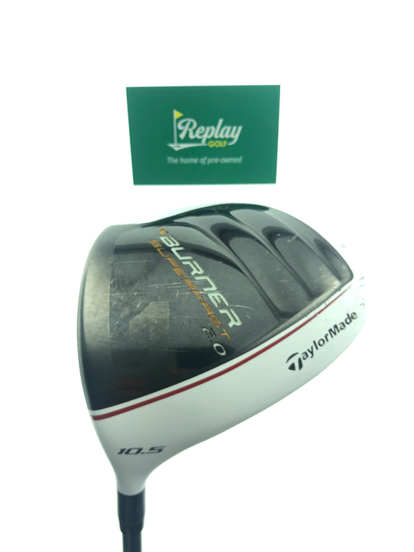 TaylorMade Burner Superfast 2.0 Driver / 10.5 Degree / Regular Flex / LEFT HAND