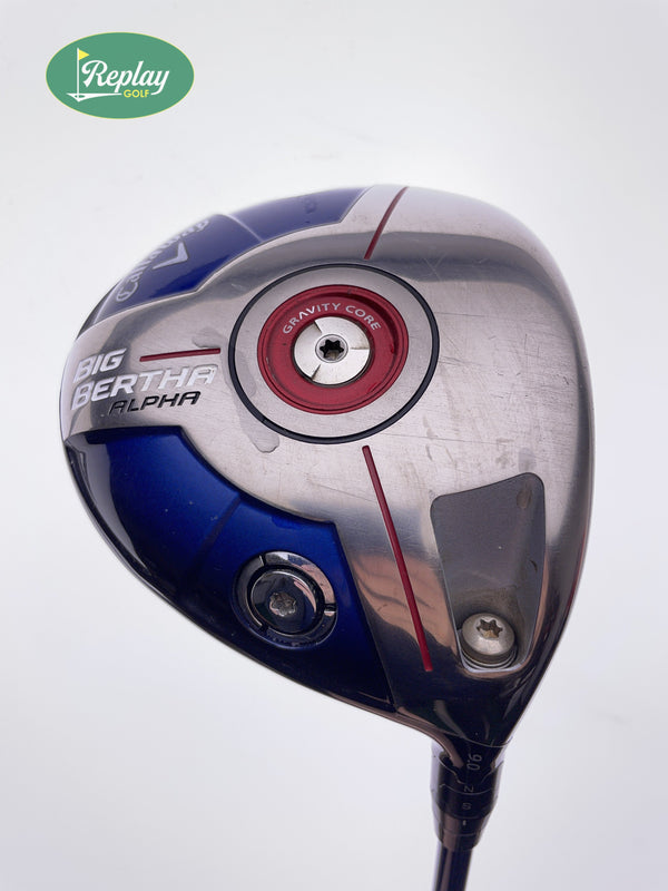 Callaway 2014 Big Bertha Alpha Driver / 9.0 Degrees / Accra RT40 Stiff Flex - Replay Golf