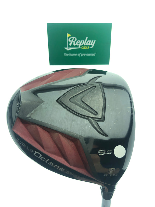 Callaway Octane Black Driver / 9.5 Degrees / Project X -6C7 60g 6.0 Stiff Flex