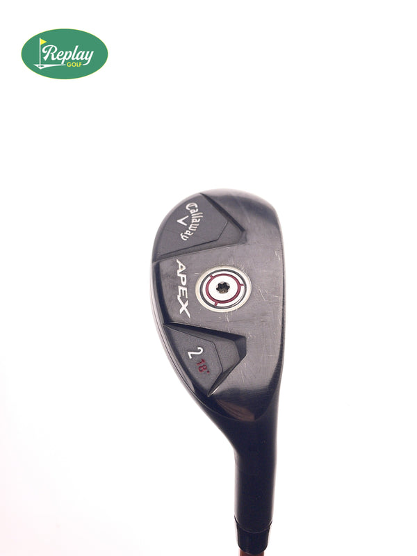 Callaway Apex 2 Hybrid / 18 Degrees / Graphite Design Tour AD DI-85 S Stiff Flex