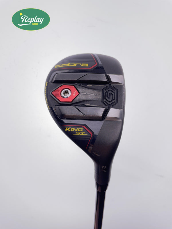 Cobra King Speedzone 3 Hybrid / 21 Degrees / Tensei CK PRO White 90HY TX Flex - Replay Golf