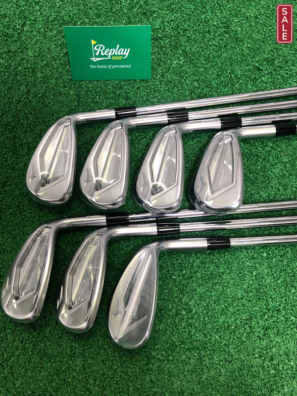 Mizuno JPX 919 Hot Metal Iron Set / 5-PW+GW / N.S Pro Modus Regular Flex - Replay Golf