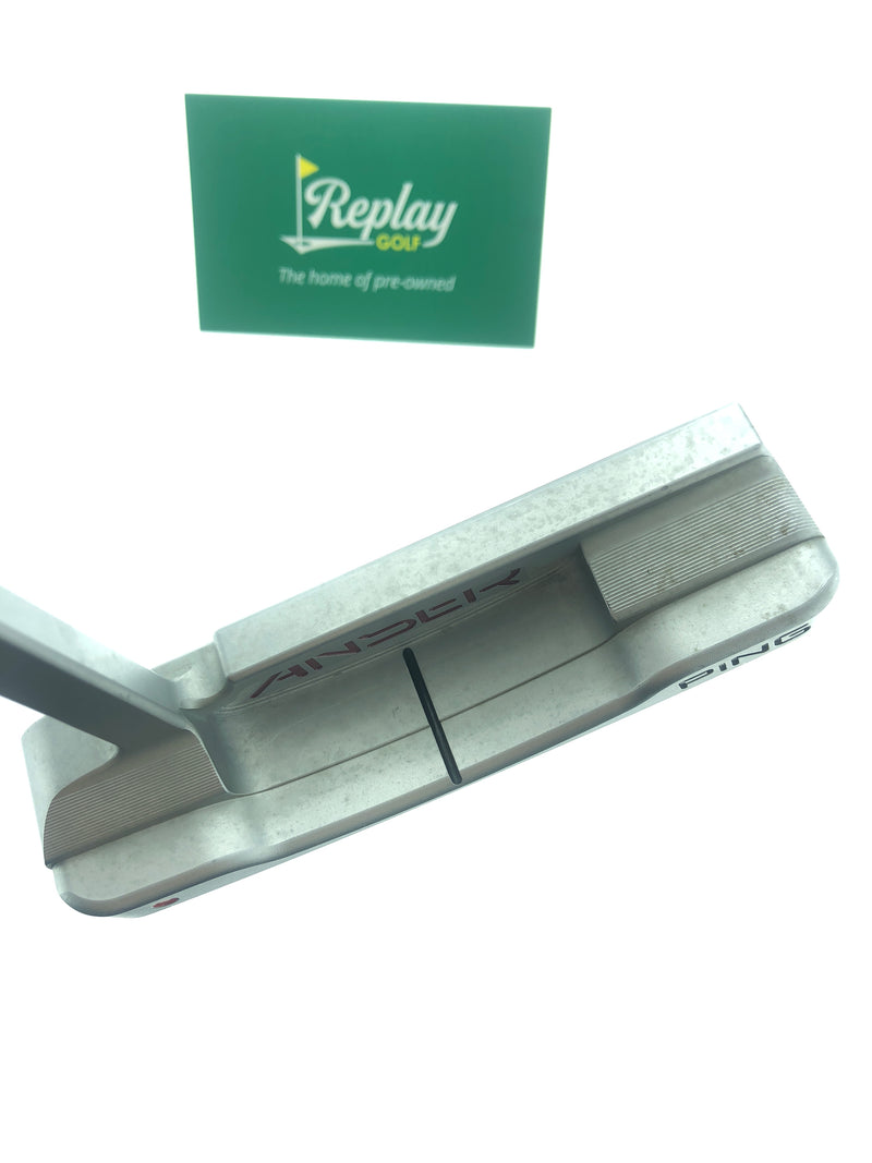 Ping Anser Milled 1 Putter / 35 Inch - Replay Golf