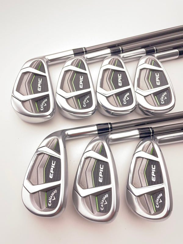 Callaway Epic CF17 Iron Set / 5-SW / Aldila Synergy 50IR A Flex