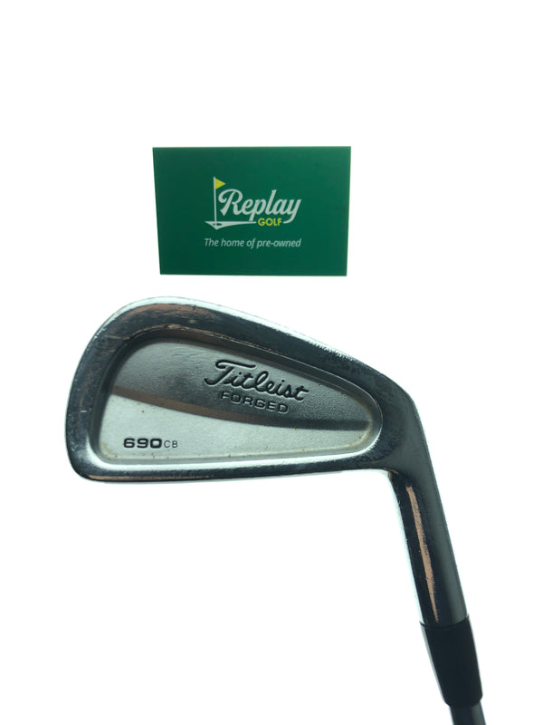 Titleist 690.CB Forged 2 Iron / 19 Degree / Dynamic Gold S300 Stiff Flex - Replay Golf
